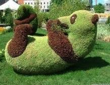 garden panda