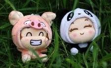 pig and panda