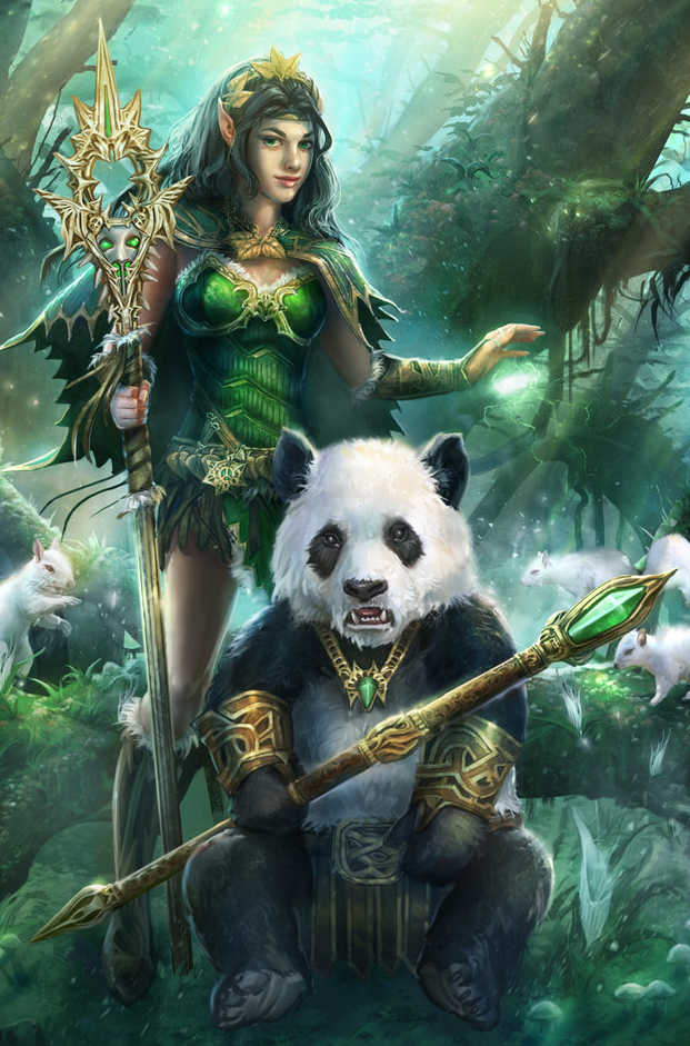 lord of pandas and princess